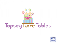 Topsey turvey tables Logo - Entry #2