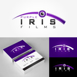 Purple Iris Films Logo - Entry #80