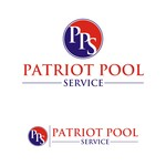 Patriot Pool Service Logo - Entry #245