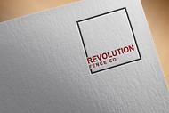 Revolution Fence Co. Logo - Entry #211