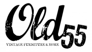 """""""OLD 55"""" - mid-century vintage furniture and wares store Logo - Entry #101"""