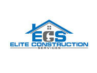 Elite Construction Services or ECS Logo - Entry #97
