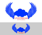 LiveDream Apparel Logo - Entry #260