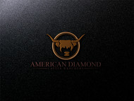 American Diamond Cattle Ranchers Logo - Entry #22