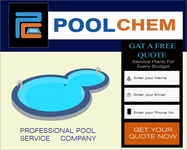 Pool Chem Logo - Entry #82