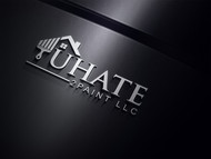 uHate2Paint LLC Logo - Entry #44