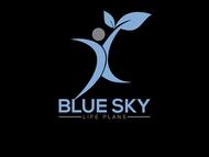 Blue Sky Life Plans Logo - Entry #433