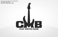 Clay Melton Band Logo - Entry #119