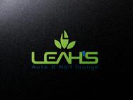 Leah's auto & nail lounge Logo - Entry #111