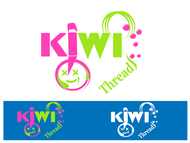 Kiwi Threads Logo - Entry #23
