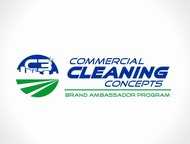 Commercial Cleaning Concepts Logo - Entry #1