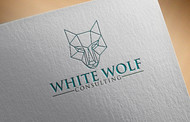 White Wolf Consulting (optional LLC) Logo - Entry #395