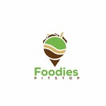 Foodies Pit Stop Logo - Entry #51