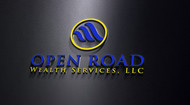 "Open Road Wealth Services, LLC  (The ""LLC"" can be dropped for design purposes.) Logo - Entry #50"