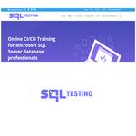 SQL Testing Logo - Entry #376