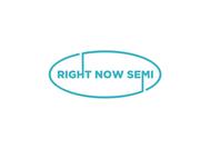 Right Now Semi Logo - Entry #166