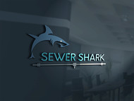 Sewer Shark Logo - Entry #180