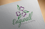 Engwall Florist & Gifts Logo - Entry #161