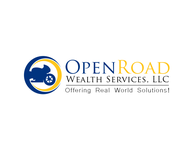 "Open Road Wealth Services, LLC  (The ""LLC"" can be dropped for design purposes.) Logo - Entry #3"
