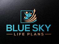 Blue Sky Life Plans Logo - Entry #124