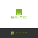 Green Wave Wealth Management Logo - Entry #214
