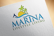 Marina lifestyle living Logo - Entry #110