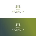 4P Wealth Trust Logo - Entry #190