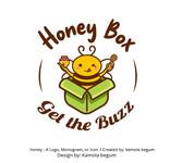 Honey Box Logo - Entry #5