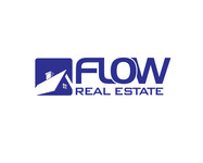 Flow Real Estate Logo - Entry #34