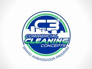 Commercial Cleaning Concepts Logo - Entry #3