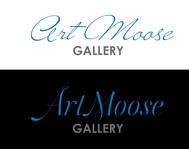 ArtMoose Gallery Logo - Entry #39