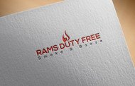 Rams Duty Free + Smoke & Booze Logo - Entry #219