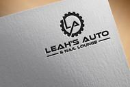 Leah's auto & nail lounge Logo - Entry #109