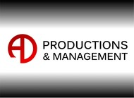 Corporate Logo Design 'AD Productions & Management' - Entry #55