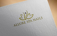 Allure Spa Nails Logo - Entry #35