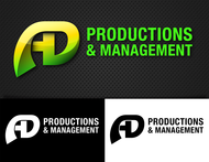 Corporate Logo Design 'AD Productions & Management' - Entry #101