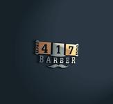 417 Barber Logo - Entry #34