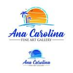 Ana Carolina Fine Art Gallery Logo - Entry #200