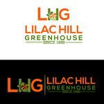 Lilac Hill Greenhouse Logo - Entry #56