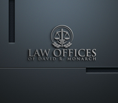 Law Offices of David R. Monarch Logo - Entry #221