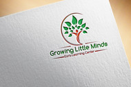 Growing Little Minds Early Learning Center or Growing Little Minds Logo - Entry #110