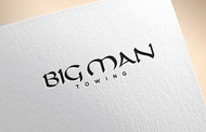 Big Man Towing Logo - Entry #118
