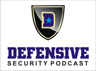 Defensive Security Podcast Logo - Entry #105