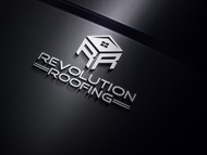Revolution Roofing Logo - Entry #56