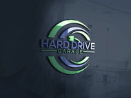 Hard drive garage Logo - Entry #287