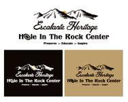 Escalante Heritage/ Hole in the Rock Center Logo - Entry #117