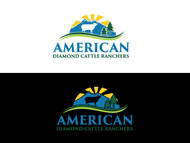 American Diamond Cattle Ranchers Logo - Entry #77