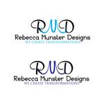 Rebecca Munster Designs (RMD) Logo - Entry #31