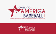 ComingToAmericaBaseball.com Logo - Entry #3