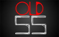 """""""OLD 55"""" - mid-century vintage furniture and wares store Logo - Entry #16"""
